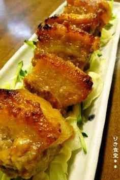 豚バラのはちみつ味噌焼きの画像