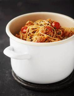Fish Burger, Pasta, My Cookbook, Risotto, Macaroni And Cheese, Chili, Spaghetti, Soup, Ethnic Recipes