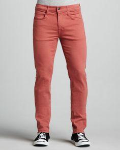 Joe's Jeans Brixton Slim Mauve Jeans