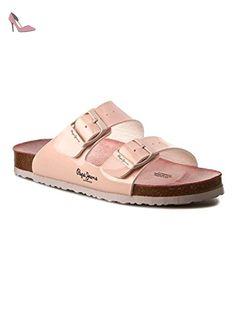 c2222c0fa1dc Sandales Pepe Jeans Oban Rosa 41 Rose  Amazon.fr  Chaussures et Sacs