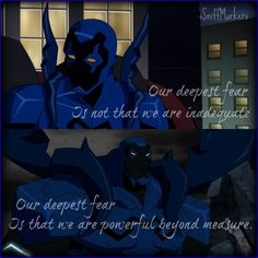 Powerful [Blue Beetle] by iSniffMarkers on DeviantArt