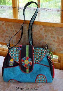 Naehoma - moni: Tasche April Love für mich