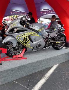 Hyabusa Motorcycle, Suzuki Motorcycle, Yamaha Motorcycles, Custom Street Bikes, Custom Sport Bikes, Custom Hayabusa, Harley Davidson Trike, Suzuki Hayabusa, Drag Bike