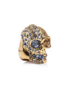 McQueen two-faced skull