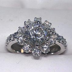 2 ct. Tw  A.Jaffe diamond engagement ring.