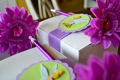 Tinkerbell Party - Take Home Party Boxes