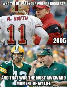 can never get over how funny this is! #AaronRodgers #MikeMcCarthy #GreenBayPackers