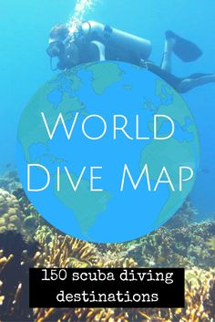 Find your next scuba diving adventure thanks to my World Dive Map, featuring more than150 of the best places to scuba dive in the world. Hours of research, travellingthroughout every continent, t…