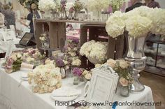vintage wedding fowers | Vintage wedding flowers {Passion for Flowers at The Vintage Chic ...