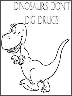 Say no to drugs free coloring pages ~ 1000+ images about Themes: Drug-Free on Pinterest | Red ...