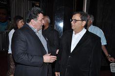 With Rishi Kapoor
