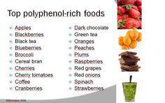 polyphenol foods - Google Search