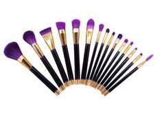 Free Shipping for a limited time! Your makeup routine is going to get a whole lot more magical with this gorgeous 8 piece unicorn makeup brush set. With bold bl