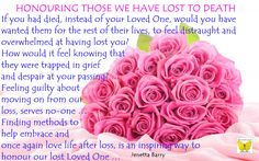 Honouring our Loved Ones Lost to Death ...