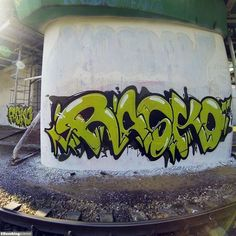 Graffiti Artist: Rasko / Moscow / Walls Graffiti. Check out the beautiful damage we have found on the streets!