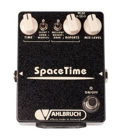 """The """"SpaceTime is a hand-made echo pedal. It combines all the advantages of analog and digital circuits in a unique way. As a result """"SpaceTime is a warm and deep sounding delay pedal,"""
