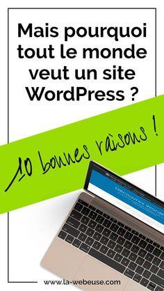 Site WordPress : pourquoi tout le monde choisit ce CMS ? Site Wordpress, Wordpress Plugins, Creer Un Site Web, Creation Site, Le Web, Digital Marketing, Articles, Computer Tips, New Technology