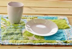 Tutorial: Patchwork placemats