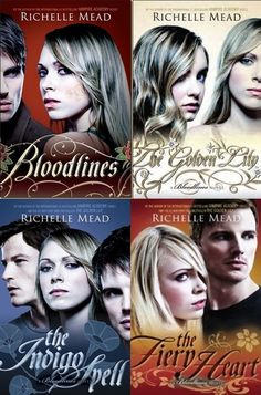 The Bloodlines Series by Richelle Meads. After Vampire Acadmey series