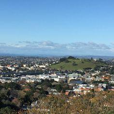 View from Mount Eden, NZ