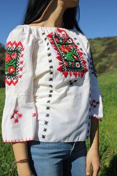 Handmade Mexican Peasant Blouse