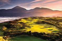 Stunning picture of the mountains of mourne belfast ~