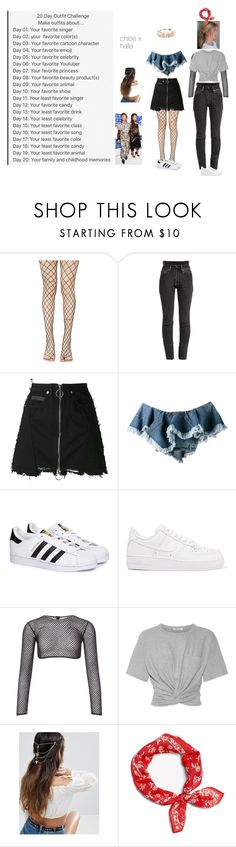 """Untitled #589"" by dance4ever1222 ❤ liked on Polyvore featuring Leg Avenue, Vetements, County Of Milan, Philosophy di Lorenzo Serafini, adidas, NIKE, PA5H, T By Alexander Wang, ASOS and rag & bone"