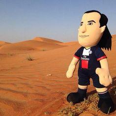 #Zlatan au calme dans le désert à Dubaï #PSG #TeamParis #Ibrahimovic #Ibra cc. @Poupluche - @poupluche_fans - 30 juin 2014