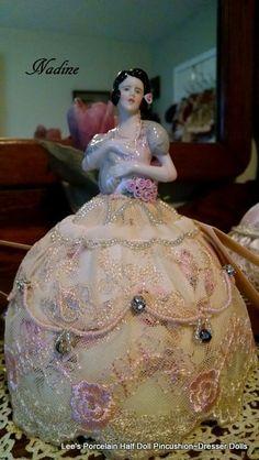 SECRET SALE Porcelain Half Doll by LeesVintageTreasures on Etsy
