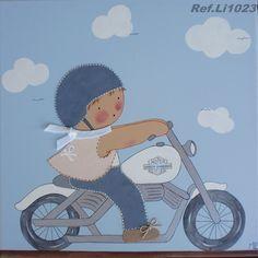 Niño moto