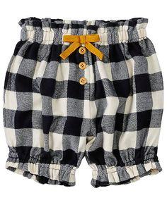 Baby Comfy Bloomers In Soft Flannel from #HannaAndersson.