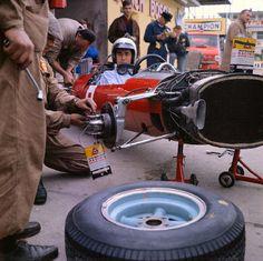 Lorenzo Bandini, Ferrari 158, 1965 German Grand Prix, Nürburgring