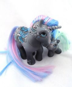 My little pony custom henna Sundury and Sashi by AmbarJulieta