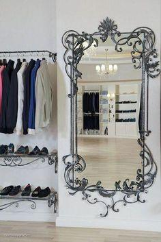 "Furniture in ""Oliver Luxury"" boutique, Sochi. Design is also mine. Iron Furniture, Steel Furniture, Luxury Furniture, Contemporary Furniture, Wrought Iron Decor, Wrought Iron Gates, Luxury Homes Interior, Home Interior, Iron Art"