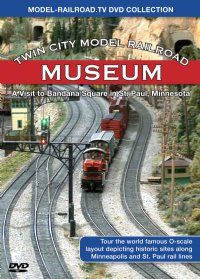 Twin City Model Railroad Museum DVD from Model-Railroad.TV