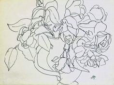 Henri Matisse http://berlindrawingroom.blogspot.ro/2014/01/contour-lines-from-matisse-to-david.html