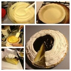 Pie + Cake = Pake ( Boston Cream Pake Recipe)