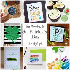 The Best St. Patricks printables from some of the most talented bloggers! www.skiptomylou.org #stpatricksday #printables