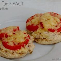 6 SP  skinny tuna melt 6 weight watchers smart points