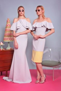 I would definitely get married on the one on the left // Christian Siriano Resort 2017 Collection Photos - Vogue