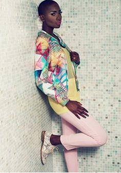 continentcreative:  Adja Kaba for Envieuse Magazine