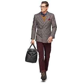 Jasje Bruin Uni Soho C700 | Suitsupply Online Store