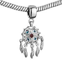 Pugster Dream Catcher Feather Metal Fit All Brands Dangle European Beads $16.49. Looks like a dream catcher, it would be perfect to represent my Gran who has quite a bit of Native American in her and has taught me a lot about the culture and even lives in a beautiful town that emulates the cultures. BOUGHT
