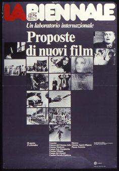 Manifesto Festival del Cinema di Venezia 1975