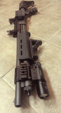 Custom build Remington 870:  I want to make mine look like this.