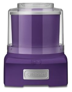 Purple! This is the ice cream maker for me.