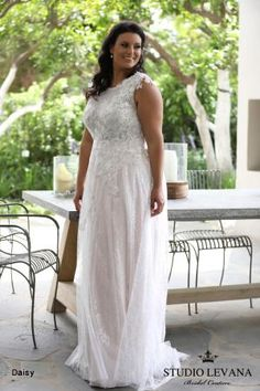 Plus size wedding gowns 2018 Daisy (2)