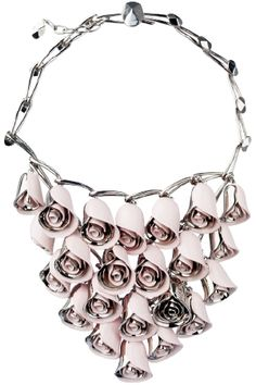 Dior Rosebud necklace, only $2800.00 ;)