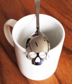 Sugar Skull Spoon by HUNDRED MILLION — Kickstarter