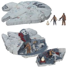 The Force Awakens Battle Action Millennium Falcon in Stock at Walmart.com